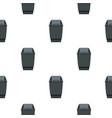 grey flip lid bin pattern seamless vector image vector image