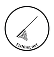 Icon of Fishing net vector image vector image