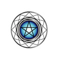 Pentacle symbol vector image vector image