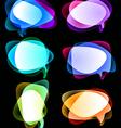 vector bubbles vector image vector image
