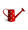 watering can isolated object white background vector image