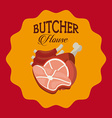 butcher house vector image vector image