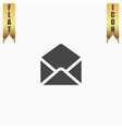 Envelope Mail icon Flat design style vector image vector image