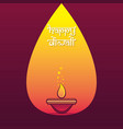 indian big festival diwali offer poster design vector image