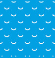 origami banner pattern seamless blue vector image vector image