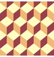 Seamless pattern cube art vector image vector image