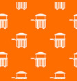 street food cart pattern seamless vector image vector image