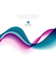 Abstract motion wave vector image vector image