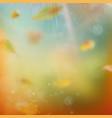 autumn festive background eps 10 vector image vector image