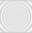 gray and white concentric circles background vector image