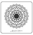 Mandala-82mandala decorative ornament design vector image vector image