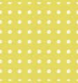 marker dots on golden background seamless pattern vector image vector image
