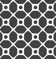 Monochrome geometric seamless universal patterns vector image vector image