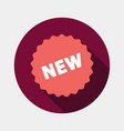 new tag icon vector image