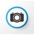 photo icon symbol premium quality isolated camera vector image vector image