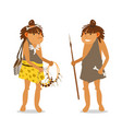 young ancient girls vector image