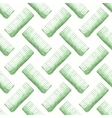Comb or hair brush Seamless watercolor pattern vector image