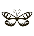 Air butterfly icon simple style vector image vector image