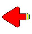 arrows round vector image vector image