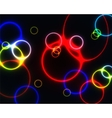 Colourful rings vector image