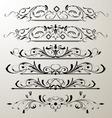 decorative page design 2 vector image vector image
