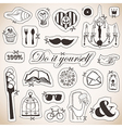 Do it yourself card vector image vector image