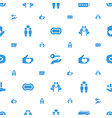 hands icons pattern seamless white background vector image vector image