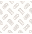 Razor Seamless watercolor pattern with stainless vector image vector image