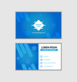 abstract simple attractive business card vector image vector image