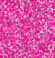Background of geometric shapesPink triangle seamle vector image vector image