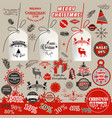 collection tags logotypes badges vector image vector image