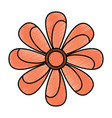 flower topview icon image vector image vector image