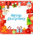 Merry Christmas Paper Concept vector image