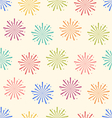 Seamless Pattern Colorful Firework for Holiday vector image vector image