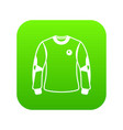 shirt goalkeeper icon simple black style vector image vector image