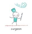 Surgeons vector image