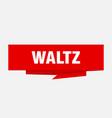 waltz vector image vector image