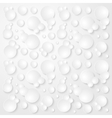 Bubbles Abstract Seamless Pattern vector image