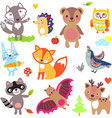 AnimalsForest vector image