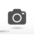 Camera - flat icon vector image