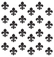 fleur-de-lys seamless background background vector image vector image