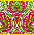 indian ethnic seamless pattern vector image vector image