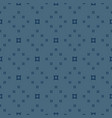 minimalist geometric seamless pattern with squares vector image vector image