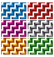 Steps seamless pattern vector image vector image