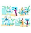 surgery medicine and diagnostic procedures vector image