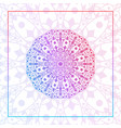 abstract luxury mandala pattern vector image vector image