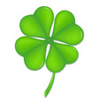 clover vector image vector image