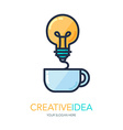 Creative Success Idea Logo vector image vector image
