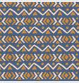 ethnic pattern aztec geometric background vector image vector image