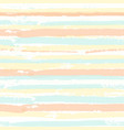 seamless pattern with brush painted stripes vector image vector image